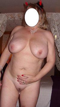 Blonde wife feeling a little horny