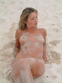 Love the beach be nude and natural have sex all day.