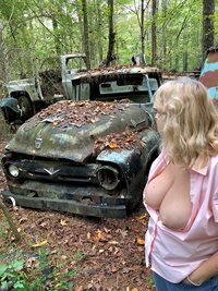 Just a walk in the woods seeing what I can find.