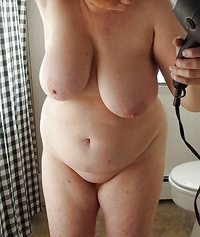 fresh from the shower; all clean and ready for some 'filthy' fun