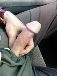 Ah...what to do today..anyone like hard daddy cock? how about some road hea...