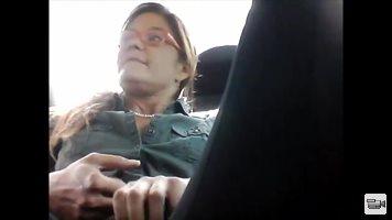 Parking Masturbation MILF