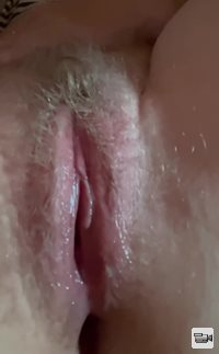 Freshly fucked and full of cum